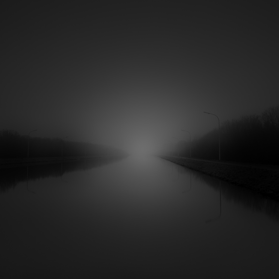 Long exposure, fine art, monochrome,